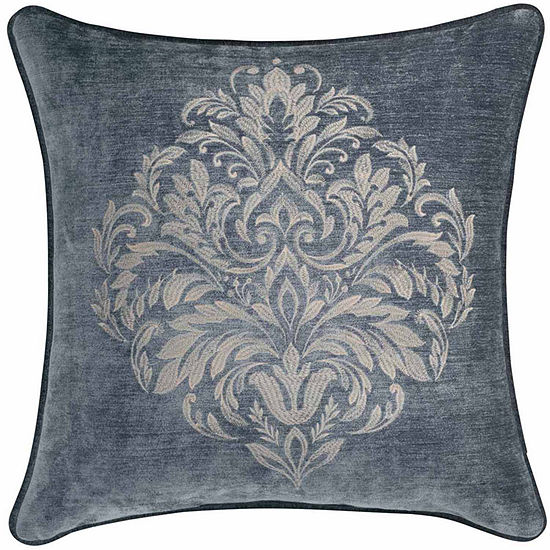 Queen Street Sarah 20 Inch Emb Square Throw Pillow