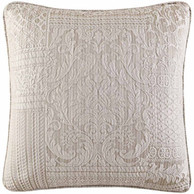 Queen Street Wesley 20x20 Square Throw Pillow