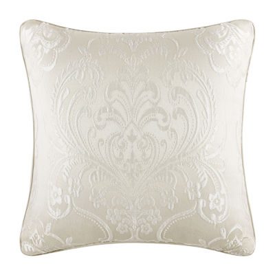 Five Queens Court Maureen 18x18 Square Throw Pillow