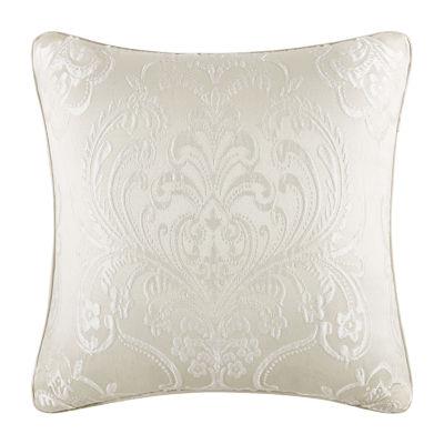 Five Queens Court Maureen 18x18 Square Throw Pillow
