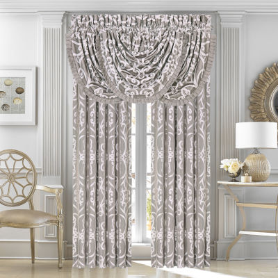 Five Queens Court Ivy 2 Pair Rod-Pocket Curtain Panels