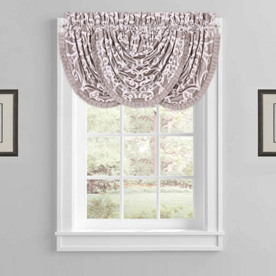 Five Queens Court Ivy Waterfall Valance