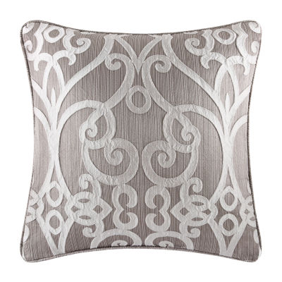 Five Queens Court Ivy Square Throw Pillow
