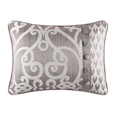Five Queens Court Ivy Rectangular Throw Pillow