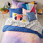Scribble Twilight Comforter And Sham Set