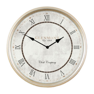 Décor Therapy Metal Deep Frame Clock