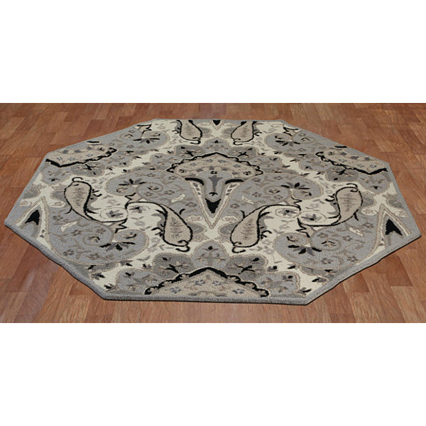 St. Croix Trading Paisley Wave Octagon Rugs
