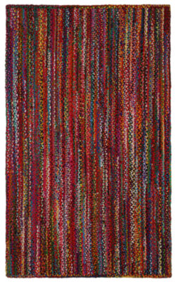 ST. CROIX TRADING Brilliant Ribbon Multi Colored Rug
