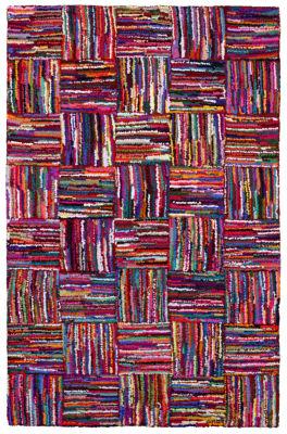St. Croix Trading Brilliant Ribbon Tiles Rectangular Rugs