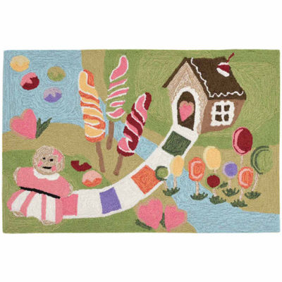 Liora Manne Frontporch Fun & Sweets Indoor/OutdoorRug