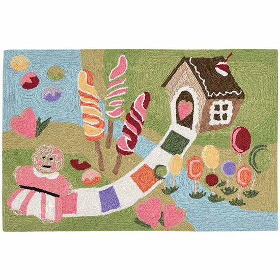 Liora Manne Frontporch Fun Sweets Indoor Outdoorrug