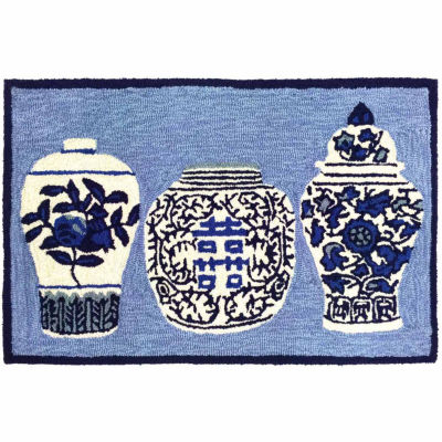 Liora Manne Frontporch Ginger Jars Indoor/OutdoorRug