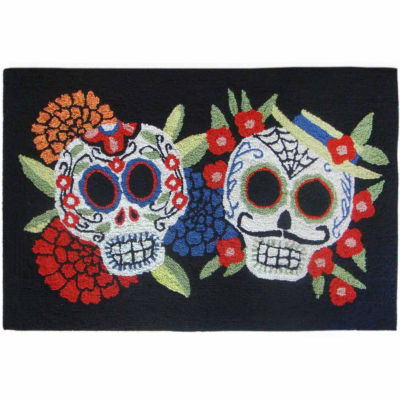 Liora Manne Frontporch Mr.& Mrs. Muerto Indoor/Outdoor Rug