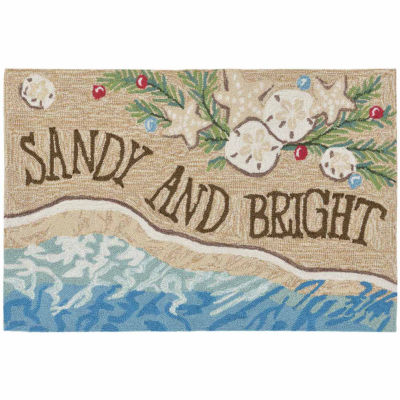 Liora Manne Frontporch Sandy & Bright Indoor/Outdoor Rug