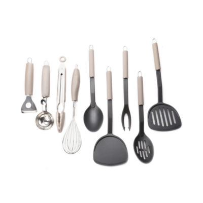 For The Chef 9-Pc. Essential Kitchen Tools Set 9-pc. Kitchen Utensil Set