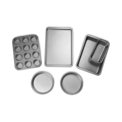 For The Chef 6-Pc. Complete Non-Stick Bakeware Set 6-pc. Non-Stick Bakeware Set