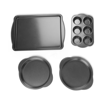 For The Chef 4-Pc. Heavy Duty Non-Stick Bakeware Set