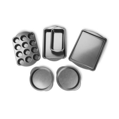 For The Chef 6-Pc. Heavy Duty Non-Stick Bakeware Set 6-pc. Non-Stick Bakeware Set