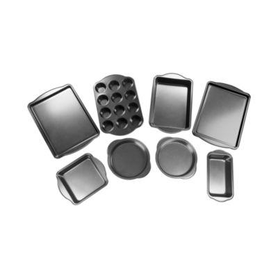 For The Chef 8-Pc. Heavy Duty Non-Stick Bakeware Set