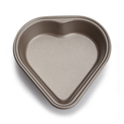 "For The Chef 4"" Mini Heart-Shape Mold Non-Stick Cake Pan"