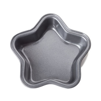 "For The Chef 4"" Mini Star-Shape Mold Non-Stick Cake Pan"