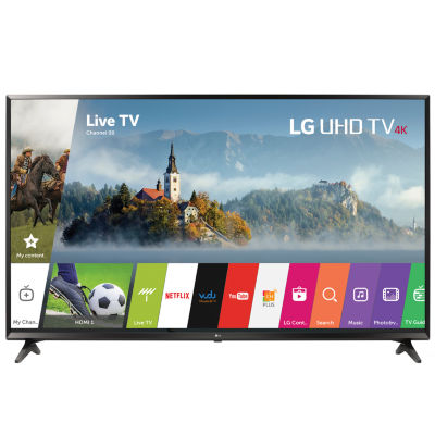 """LG 55"""" Class UHD 4K HDR LED Smart HDTV Model 55UJ6300"""