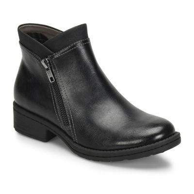Eurosoft Womens Shonda Booties Stacked Heel Zip