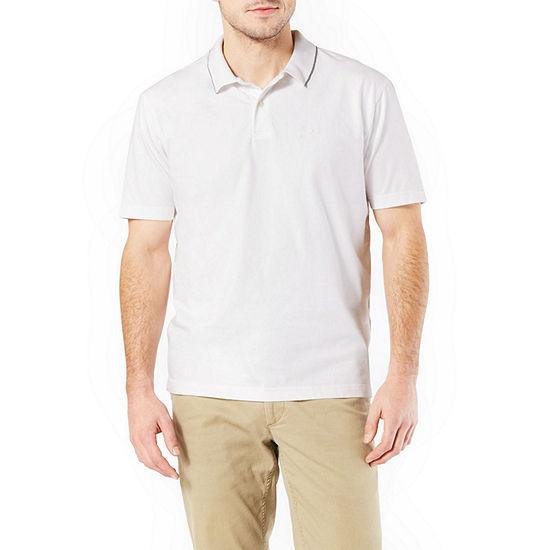 Dockers Easy Care Short Sleeve Knit Polo Shirt