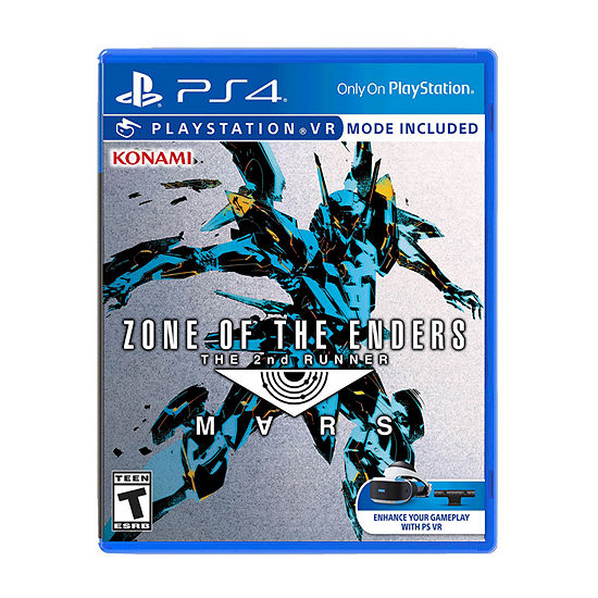 Playstation 4 Psvr Zone Of The Enders: The 2nd Runner Mars Video Game