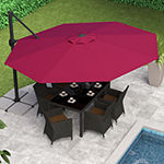 Deluxe Offset Patio Umbrella