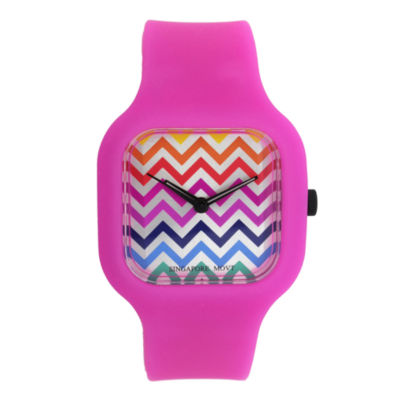 Womens Multicolor Strap Watch-13467