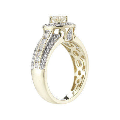 1 CT. T.W. Certified Diamond 14K Yellow Gold Bridal Ring