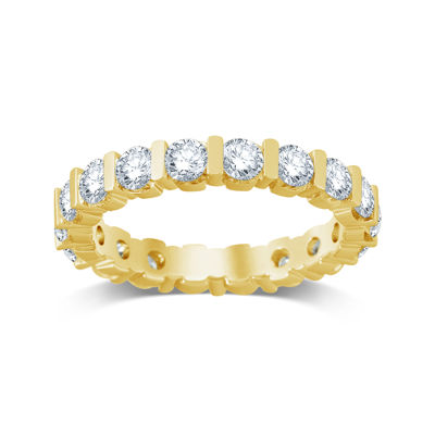2 CT. T.W. Diamond 14K Yellow Gold Eternity Band