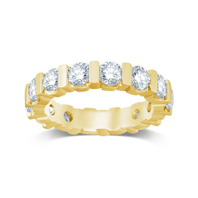3 CT. T.W. Diamond 14K Yellow Gold Eternity Band