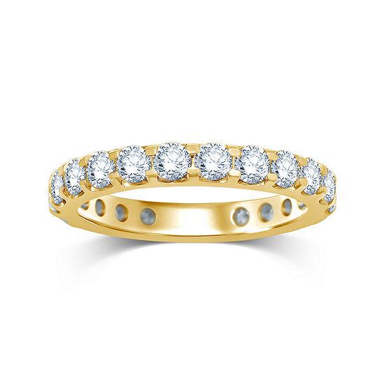2 CT. T.W. Diamond 14K Yellow Gold Wedding Band