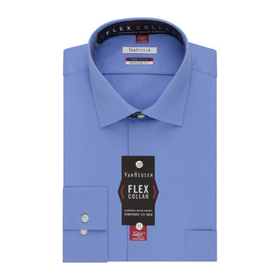 Van heusen long sleeve flex collar reg fit dress shirt for Van heusen shirts flex collar