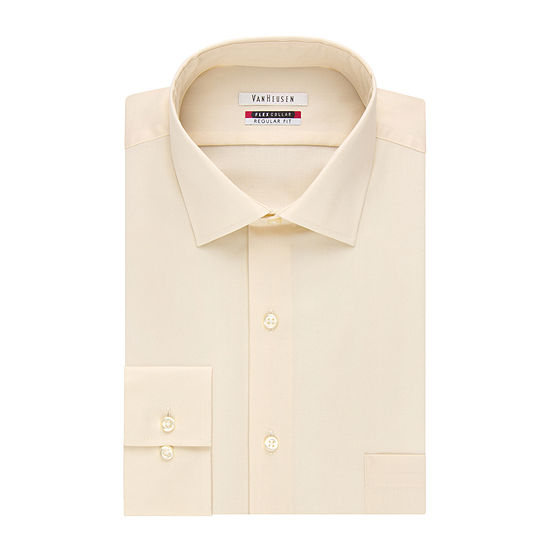 Van Heusen® Long-Sleeve Flex Collar Reg Fit Dress Shirt