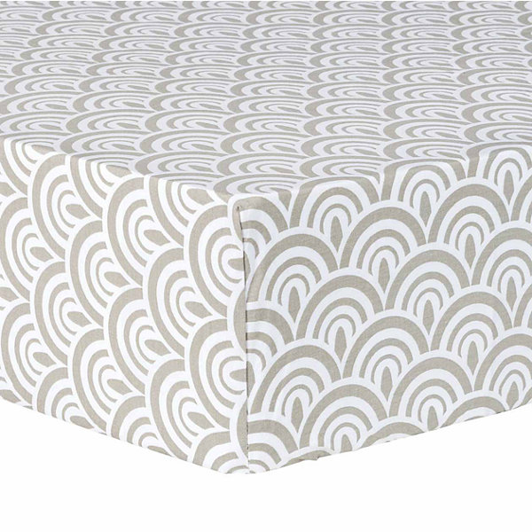 Trend Artdeco Fitted Crib Sheet