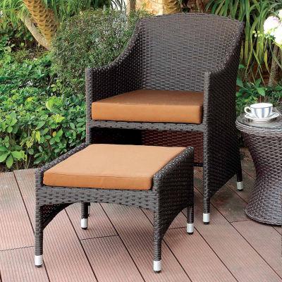Allen Nesting Arm 2-pc. Conversational Chair