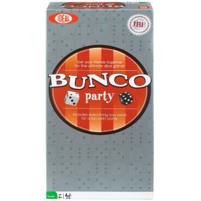 Ideal Bunco Party Ultimate Dice Board Game