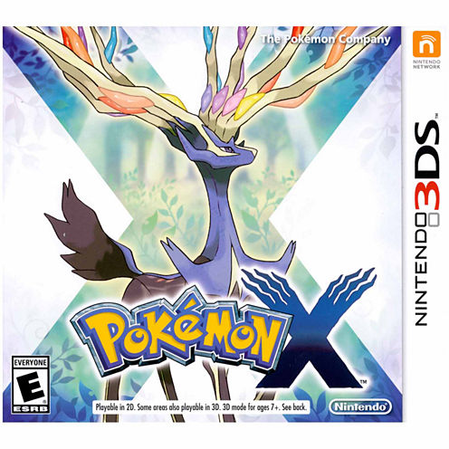 Pokemon X Video Game-Nintendo 3DS
