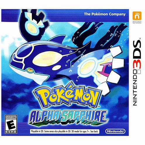 Pokemon Alpha Sapphire Video Game-Nintendo 3DS
