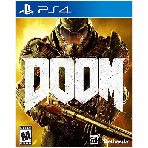 Doom Video Game-Playstation 4