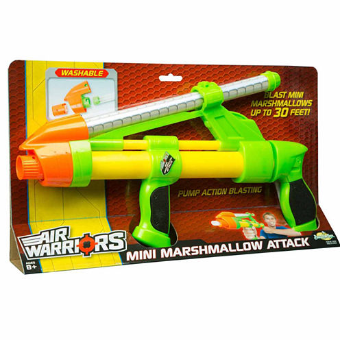 Buzz Bee Toys Air Warriors Mini Marshmellow Attack Toy Playset - Unisex