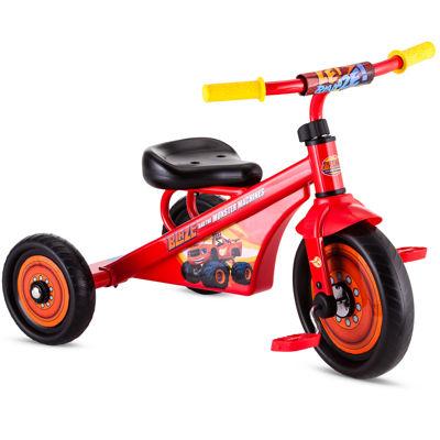 "Nickelodeon Blaze 10"" Unisex Tricycle"