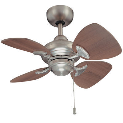 24in Satin Nickel Indoor Ceiling Fan