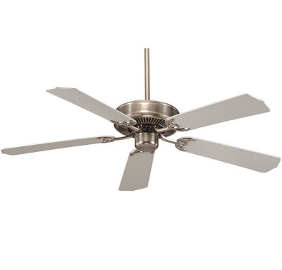 52in Satin Nickel Indoor Ceiling Fan