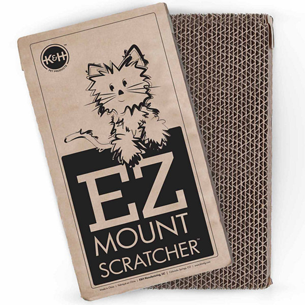 K & H Manufacturing EZ Mount Window Scratcher Refill 2-Pack, Brown