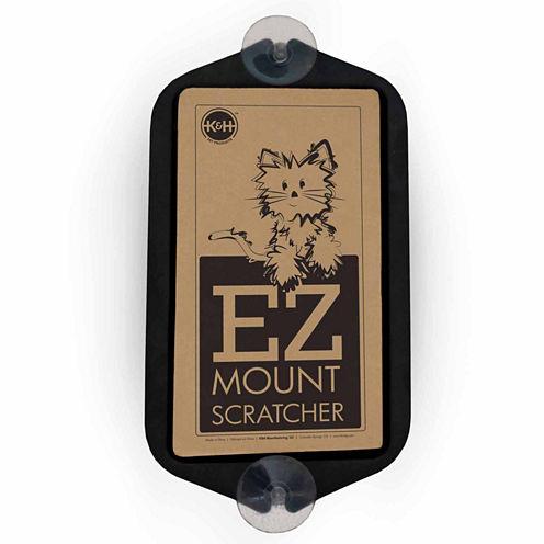 """K & H Manufacturing EZ Mount Window Scratcher, Black, 5"""" x 10"""""""