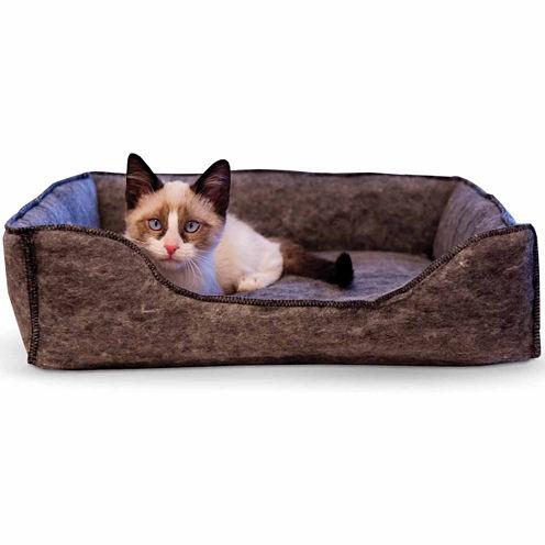 "K & H Manufacturing Amazin' Kitty Lounge Sleeper - 13"" x 17"", Gray"